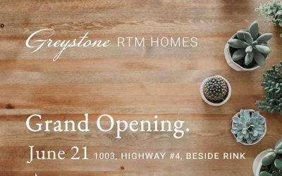 Join us for our RTM Build Site Grand Opening in Rosetown this Friday!