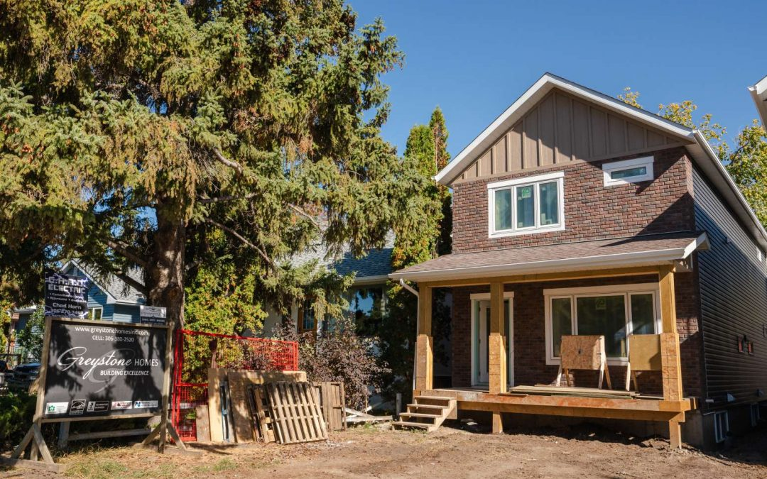Infills blend Customized Homes & Living in the Heart of Saskatoon